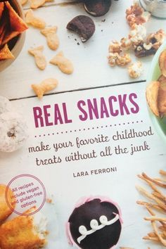 Perry's Plate: Dishing up real-food recipes and really good desserts » Homemade Cheese Crackers + Real Snacks Cookbook Giveaway!