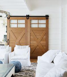 white wood cottage