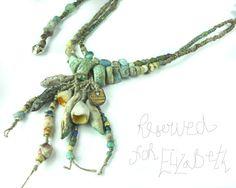 RESERVED FOR ELIZABETH Artisan Necklace/ Bracelet