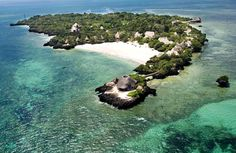 Chale Island, Kenya    The Chale Island is a small romantic island situated about 600 meters from the mainland and 10 km south of Diani Beach, 50 km south of Mombasa and 70 km from the border of Tanzania.