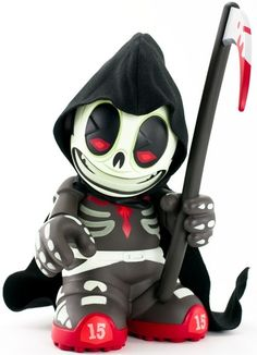 'Kid Reaper' by Andrew Bell and produced by Kidrobot.