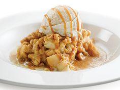 Britts supertupperhoekje: Recept : apple crumble - met OER-fruit
