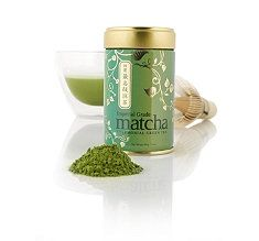 Teavana has one of the highest grade matcha powders! Here is a great matcha smoothie recipe. I also love mixing a little matcha powder with honey and lemon and using it as  a face mask. High in antioxidants and beneficial for inner and outer wellness <3