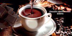 Previene  diabetes con chocolate caliente