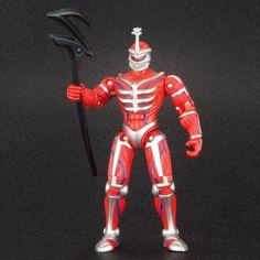 "Power Rangers Evil Space Alien LORD ZEDD 4"" Action Figure MMPR Bandai 2010 #Bandai"
