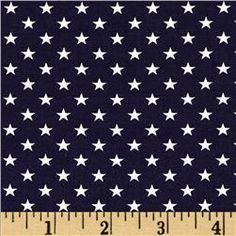 Stars & Stripes II Stars Blue/White