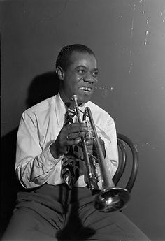 Louis Armstrong!  Greatest Trumpeter eva!