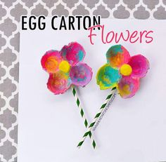 Yep need to do these. Egg cartoon finger paint and sticks.