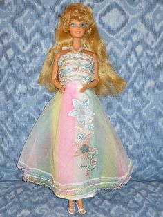 1980 birthday barbie, my favorite because Santa brought her but I don't remember the mullet :)