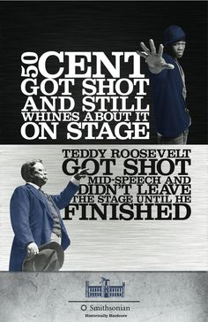 Funny pictures about Teddy Roosevelt was a badass. Oh, and cool pics about Teddy Roosevelt was a badass. Also, Teddy Roosevelt was a badass photos. History Posters, History Jokes, Funny History, History Facts, Drunk History, Get Shot, Ozzy Osbourne, Like A Boss, I Smile