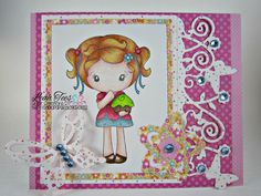 March 2015, DT project for Quick Creations using Cupcake Kiki by CC Designs, Created by Leah Tees