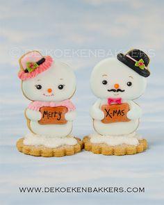 Snowman Cookie Cutter budget version por 3DCookieCutterShop en Etsy