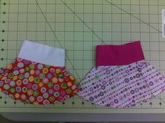 From pinner:Two more skirts that I made using my own creation of a circle skirt.  I used the PDF pattern from www.seaminspired.com site and used a head band that I purchased at the dollar tree (bundle of different widths) and sewed the side seam which is now in the back to match the seam on the headbandsewed the band to the skirt, and hemmed.  I guess you could call it a yoga skirt.