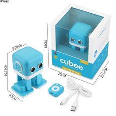 iPiggy WL Juguetes Cubee Programming Inteligente App Control Dancing Robot Toys For Kids Children Gift App Control, Remote Control Toys, Radio Control, Rc Robot, Smart Robot, Robots, Radios, Dancing Toys, Intelligent Robot