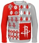 Rockets ugly Christmas sweater