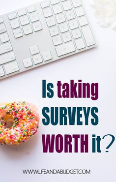 "You may find yourself wondering, ""Is taking surveys worth it?"" Well, I've got an answer and it may or may not surprise you. Come read and see if it's worth it."