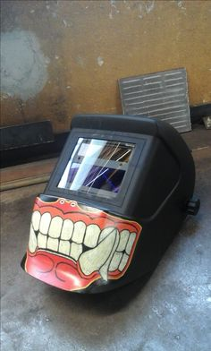 my custom welding mask