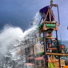 "A fun view of Splash Castle at @Sesame Place captured by @Jessica Rodriguez on Instagram as part of our ""Capture Your #BucksCountyMoment"" photo contest."