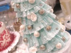 Beautiful: The Official Crepe Paper Christmas Tree Tutorial