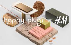 A szuper trendi Happy Plugs kiegészítők december 1-től kaphatók a H&M-nél!