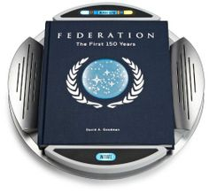 This unprecedented illustrated volume chronicles the pivotal era leading up to Humankind's First Contact with Vulcan in 2063, the Romulan War in 2156, the creation of the Federation in 2161, and the first 150 years of the intergalactic democracy up until the year 2311. http://www.amazon.com/Star-Trek-Federation-First-Years/dp/1612184170/ref=sr_1_1?m=A3030B7KEKNTF7&s=merchant-items&ie=UTF8&qid=1393966912&sr=1-1&keywords=star+trek