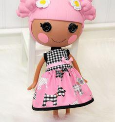 Lalaloopsy Clothes Scottie Dog Dress by LittleNoel on Etsy,