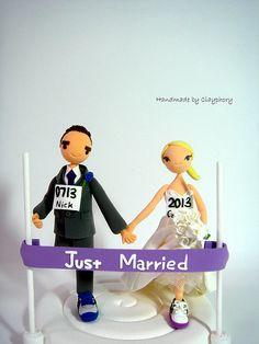 Running Themed Weddings
