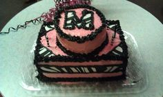 Cake I made for my nieces bday, the zebra is sugar paper that is sooo easy to work with cut just like paper Andrew stick on icing. Can get in the craft department at walmart by the cake decorating stuff.