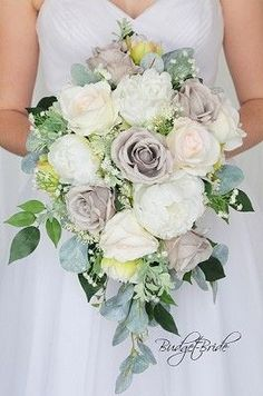 Custom Made Wedding flowers to match Davids Bridal colors. Design the perfect brides bouquet for yourself, your groom and your bridesmaids! Cascading Wedding Bouquets, Peony Bouquet Wedding, Cascade Bouquet, Bride Bouquets, Bridal Flowers, Rose Wedding, Wedding Bride, Bouquet Flowers, Wedding Ideas