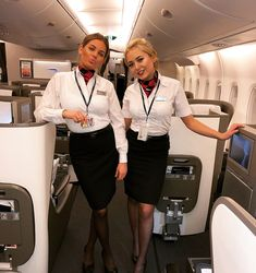 More attractive female airline crew, ground staff and flight attendants wearing uniforms with very tight skirts: . Tight Pencil Skirt, Tight Skirts, Mini Skirts, British Airways Cabin Crew, Airline Uniforms, Beautiful Young Lady, Office Ladies, Off Duty, Look