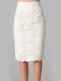 Slit Lace Trendy Midi Skirts #ClothingOnline #PlusSizeWomensClothing #CheapClothing #FashionClothing #womenswear #sexydress #womensdress #womenfashioncasual #womensfashionforwork #fashion #womensfashionwinter