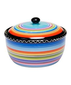 Another great find on #zulily! Tequila Sunrise Bean Pot #zulilyfinds