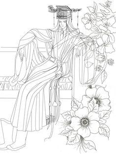 Hoa Hoa Tự Vũ / hoahoatuvu / Hoa Hoa Tu Vu / HoaHoaTựVũ / vẽ phác họa
