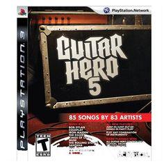 Jogo Guitar Hero 5 - PS3. Musical. R$79