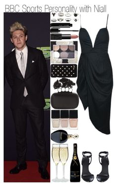 """BBC Sports Personality with Niall"" by fashion-onedirection ❤ liked on Polyvore featuring Alexander Wang, NARS Cosmetics, Forever 21, Diane Von Furstenberg, Alexander McQueen, Witchery, Roberto Cavalli, MoÃ«t & Chandon, OneDirection and Niall"