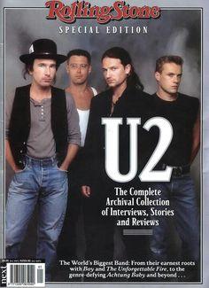 U2: The Rolling Stone #u2newsactualite #bono #theedge #larrymullen #adamclayton #u2 #music #rock #rollingstone #u2newsactualitepinterest