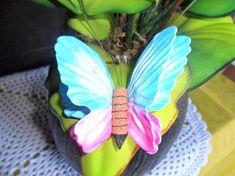 Plants, Floral Arrangements, Flower Arrangements, Butterfly, Molde, Cute, Manualidades, Plant, Planets