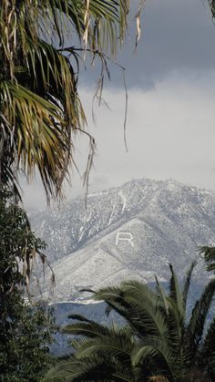 The February view from Prospect Park in Redlands, CA. Not sure if I should feel warm or cold!