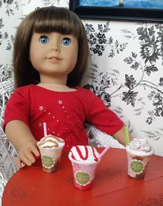 American Girl Doll Crafts and Fun!: Make a Frappe for Your Doll