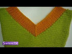 Crochet and Knitting Knitting Videos, Crochet Videos, Knitting Stitches, Baby Knitting, Crochet Poncho, Knit Crochet, Irish Crochet, Sewing Collars, Learn How To Knit