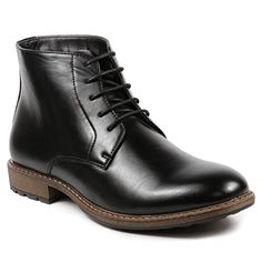 mens black chukka boots 9.5