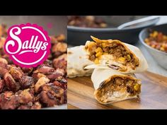 Sallys Blog - Sallys Tex-Mex-Burritos / Chili-Wraps