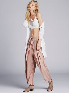 Free People Slouchy Harem Pant, C$210.27 | Mendocino