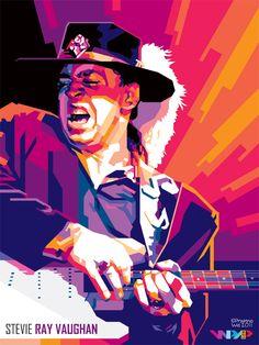 Stevie Ray Vaughan in WPAP | by prayitnowidodo