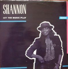 "Shannon ‎– Let The Music Play (Remix) 12""  Let 212 Electronic   Winyle"
