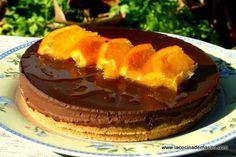 La Cocina de Masito: Tarta de chocolate y mandarina