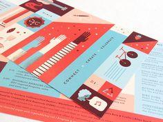 postcard event designs - Google Search