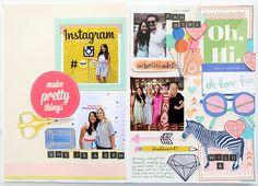 inspired by... scrapbooking with amy tan @ shimelle.com