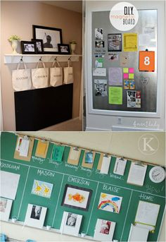 18 Back to School Family Command Center Ideas {Free Printables} - Homes.com