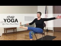 Welcome to chair yoga! Come join our senior yoga group where you can move, stretch and relax the gentle yoga way! This is a one hour live recording of Jan Ho. Yoga 1, Yoga Moves, Yoga Meditation, Senior Fitness, Yoga Fitness, Partner Yoga, Yoga For Seniors, Yoga Photography, Beauty Photography